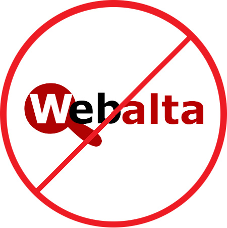 Как удалить Webalta из браузера Opera