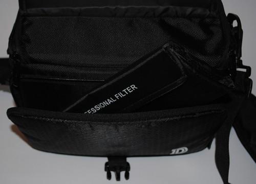 Фотофильтры и аксессуары для фотокамеры из Китая - В переднем кармане сумки
