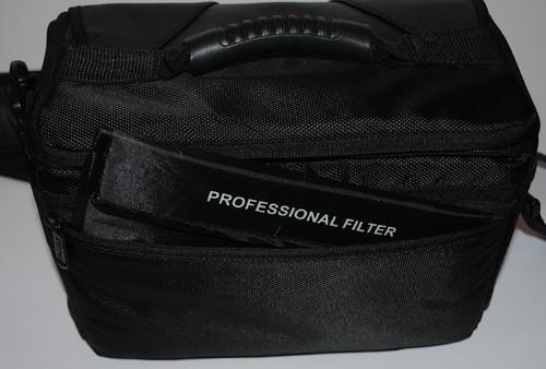 Фотофильтры и аксессуары для фотокамеры из Китая - В заднем кармане сумки