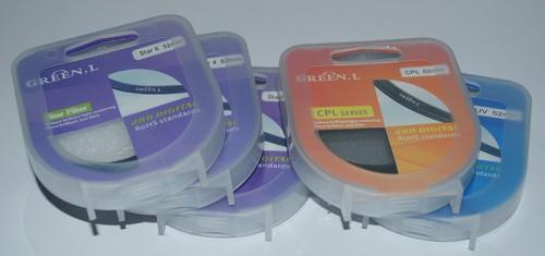 Фотофильтры и аксессуары для фотокамеры из Китая - Фильтры: CPL, UV, 4 Star, 6 Star, 8 Star