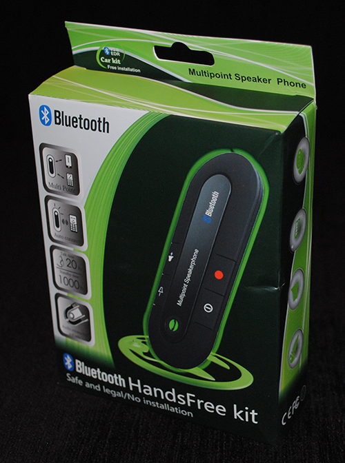 Wireless Bluetooth Handsfree Speakerphone Car Kit