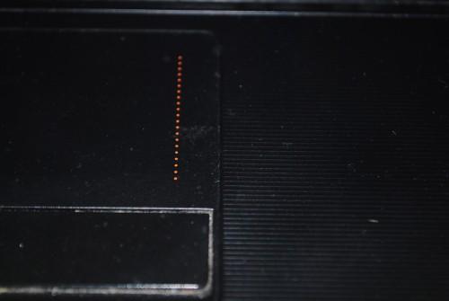 Lenovo G570. Верхняя часть старого корпуса.