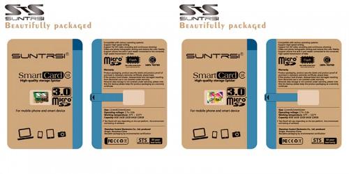 Suntrsi - Обе флешки красиво и стильно упакованы,формат упаковки такой же, как у недавно купленных флешек LD. Что дает некоторую надежду на то, что фирма Suntrsi - это именно фирма а не подвальное производство. :)