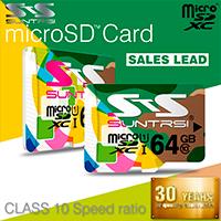 Две карты microSD Suntrsi на 32 Gb